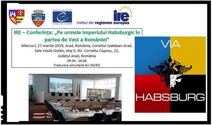 """A înnebunit Lupul? Consiliul Județean Arad organizează o conferință intitulată """"Via Habsburg"""", Foto: facebook"""