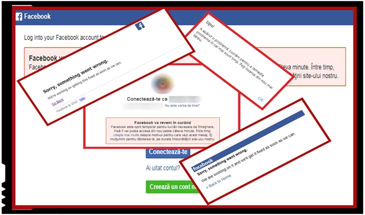 Facebook și Instagram nefuncționale pe mai multe continente