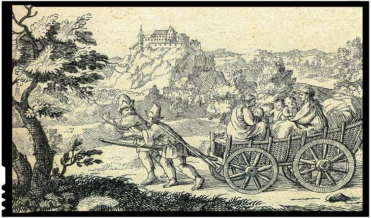 Iobagi refugiați - La 31 martie 1437 izbucnea Răscoala de la Bobâlna