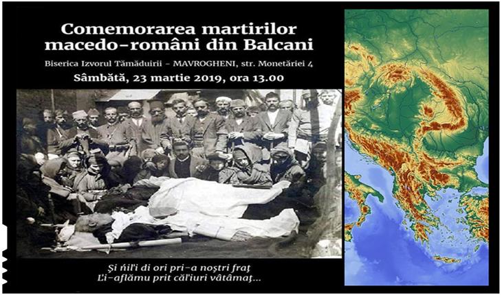 23 Martie 2019:Comemorarea martirilor macedo-români din Balcani, Foto: facebook.com/groups/avdhela.biblioteca.di.cultura.armaneasca