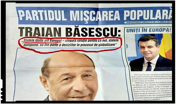 Pe cine am avut noi președinte? Pe cineva care militează pentru dispariția României, Foto: facebook
