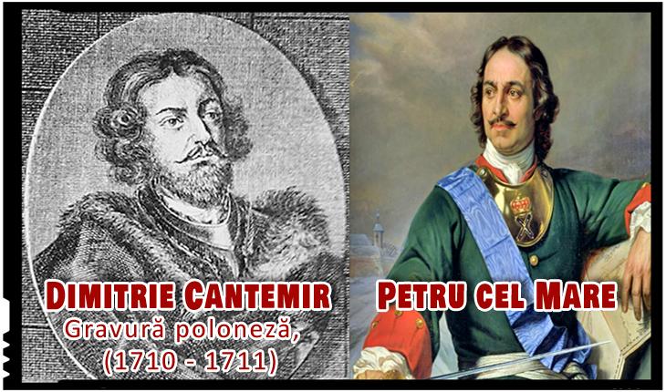 Pe 2 aprilie 1711 Dimitrie Cantemir încheia la Luțk un tratat de alianță cu Petru cel Mare