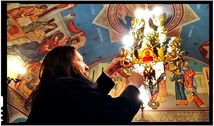 """O minune contemporană: părintele Dan Damaschin, de la Biserica Maternității """"Cuza Vodă"""" din Iași, Foto: Facebook / Dan Damaschin"""