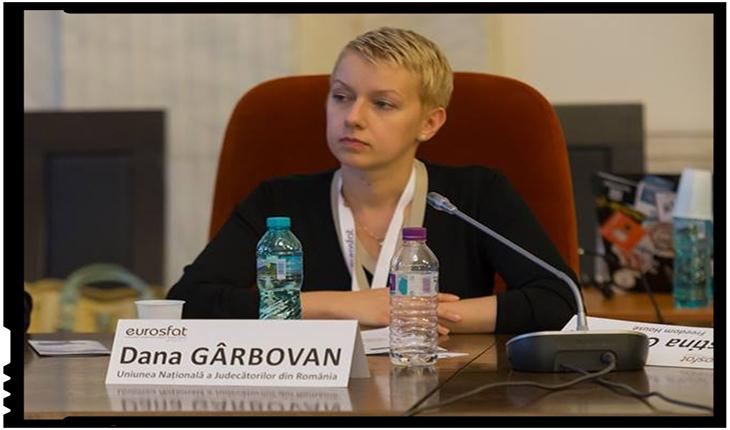 """Dana Gîrbovan: """"Tăcerea procurorilor în scandalul implicării Procurorului General Augustin Lazăr în aparatul de represiune anti-comunistă este asurzitoare"""", Foto: facebook.com/dana.girbovan.5"""