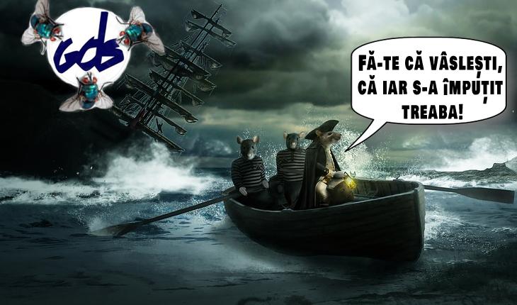 """Marian Munteanu: """"Pseudo-dizidentul Dinescu și """"noua"""" ȘOBOLANIADĂ.Când corabia e în pericol, primii care o părăsesc sunt, după cum bine se știe, șobolanii"""""""
