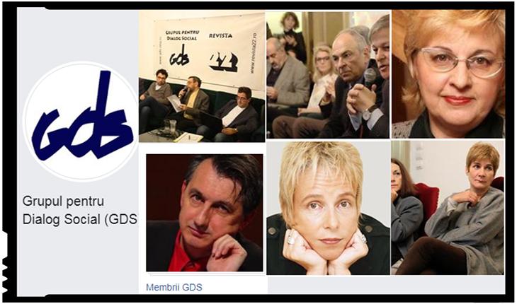 """GDS nu îi mai acordă premiul însă nu se dezice de Augustin Lazăr: """"Îl asigurăm pe domnul Augustin Lazăr de solidaritatea noastră"""", Foto: facebook.com/Grupul-pentru-Dialog-Social-GDS-242810409179797/"""