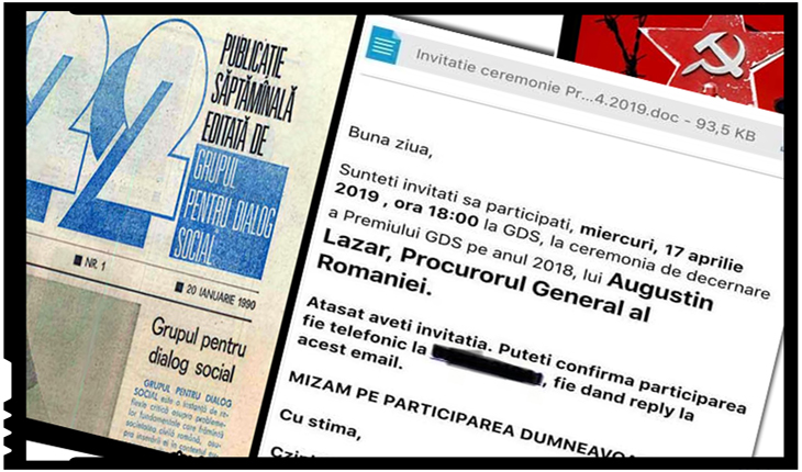 Daniel Dragomir: Țara asta nu se mai face bine? GDS va invită pe 17 aprilie să-l onorați pe Augustin Lazăr, Foto: facebook / Daniel Dragomir