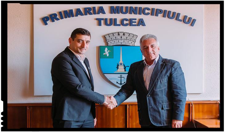 George Simion, susținut de primarul municipiului Tulcea