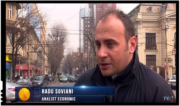 """Radu Soviani: """"Dubioasă ieșirea de astăzi a fostului procuror comunist, Augustin Lazăr"""", Foto: TVR / facebook.com/radu.soviani"""