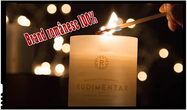 Brand 100% Românesc: lumânări parfumate cu fitil de lemn de cireș, lucrate manual