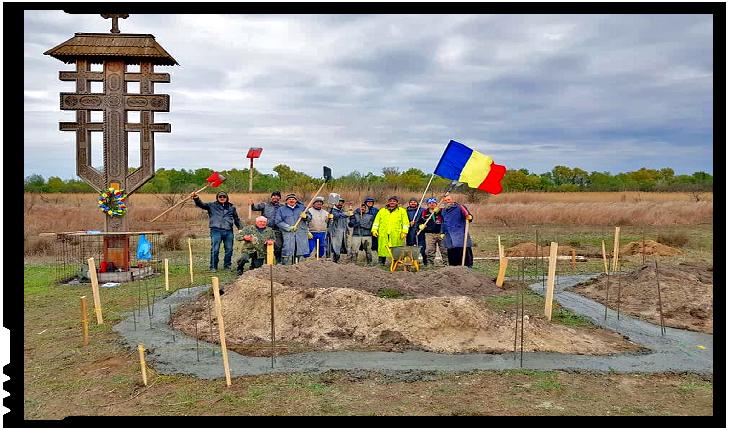 Tabără de lucru și educație românească la Periprava, Foto: facebook.com/jnepiisfantuluigheorghe