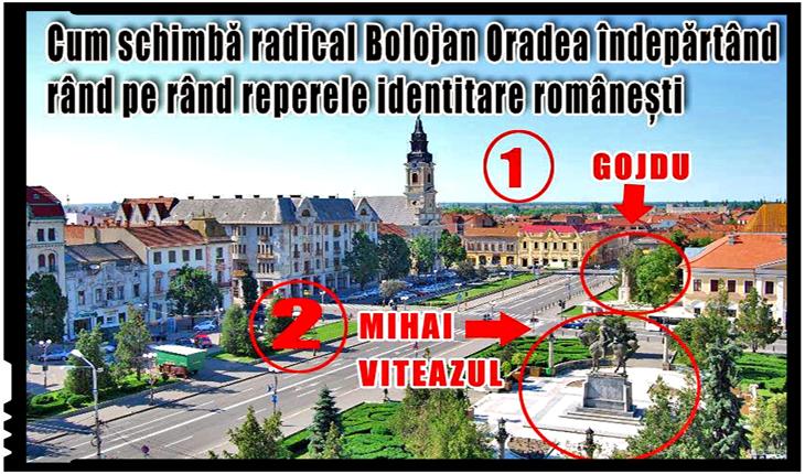 La Bolojan e boală veche lupta cu statuile românești din Oradea, Foto: Facebook / Oradea-Nagyvarad-Grosswardein