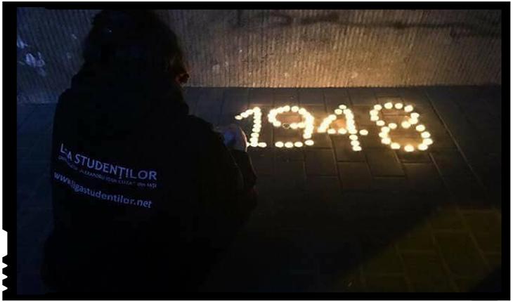 Comemorarea Martirilor și Mărturisitorilor din temnițe comuniste, Foto: facebook.com/ligastudentilor.net/