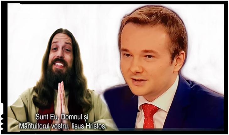 """Daniel Gheorghe: """"Clipul electoral care îl ironizează pe Iisus, o variantă postmodernistă a celei mai abominabile forme de bolșevism"""""""