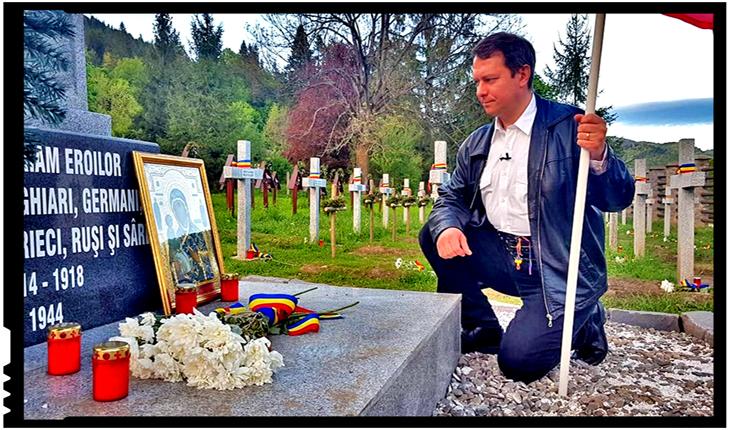 """Românii de lângă Valea Uzului: """"Ne gândeam noi că morții noștri nu vor mai avea loc în cimitire?"""", Foto: Facebook / Mihai Tirnoveanu"""