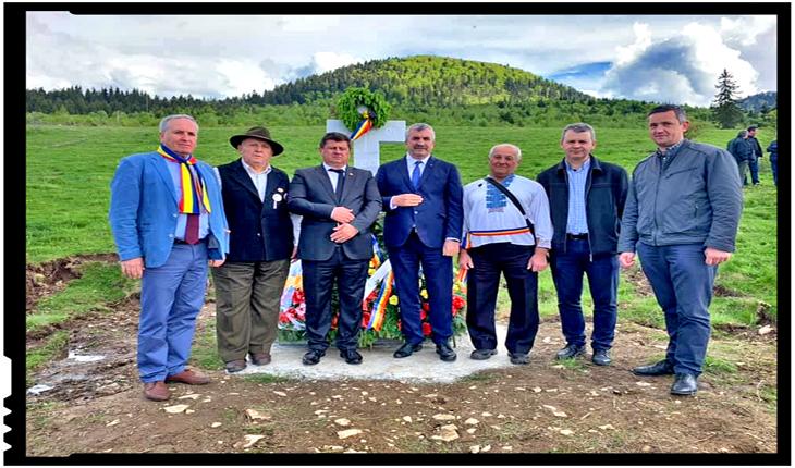 Încă un monument în Munții Apuseni în memoria eroilor români: Monumentul de la Vința, Foto: facebook.com/societateaavramiancu.romania