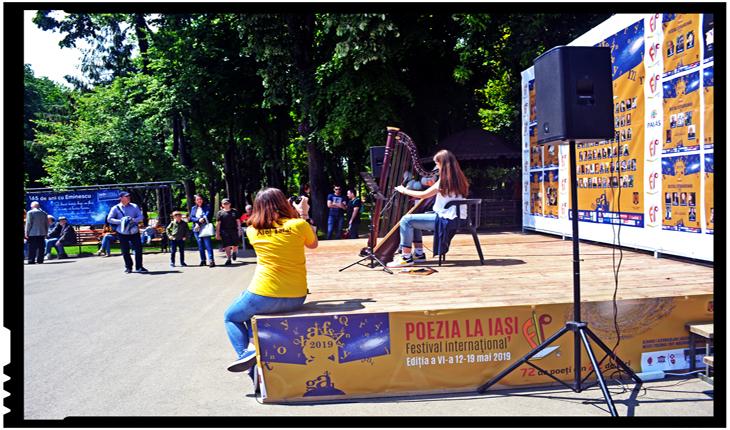 """POEZIA LA IAȘI - Între 12-19 mai 2019 are loc cea de-a VI-a ediție a Festivalului Internațional """"Poezia la Iași"""" (FIPI)"""