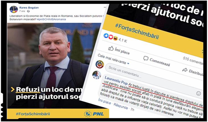 """Sloganurile tembele ale lui Rareș Bogdan nasc idei și mai tembele: """"Ar trebui luată în discuție și pierderea dreptului de vot pentru asistații sociali"""", Foto: Facebook / Rarș; Bogdan"""