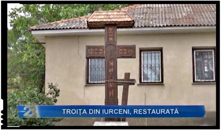 Patrimoniul cultural și spiritual românesc își reocupă locul de drept în Basarabia: Troița din Iurceni, salvată de urgia sovieticilor, repusă la loc, Foto: facebook.com/canal2nisporeni