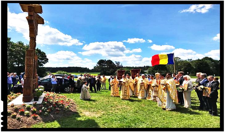 În Germania a fost aşezată piatra de temelie pentru o nouă biserică românească, Foto: basilica.ro