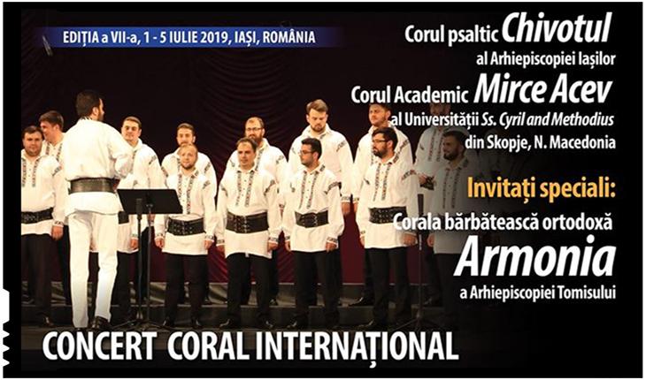 Concert Coral Internațional pe 2 iulie 2019 la IAȘI: invitați speciali, Corala Bărbătească Armonia a Arhiepiscopiei Tomisului, Foto: Facebook / Asociatia Iubire si Incredere Iasi