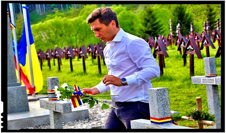 Intervenţie în Parlamentul României cu privire la acţiunile extremiştilor maghiari, Foto: facebook.com/ConstantinCodreanuRO