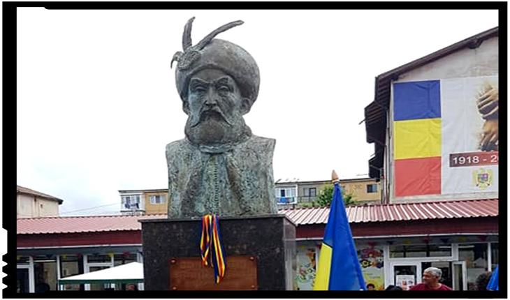 La Filipeștii de Pădure a fost sfințit și inaugurat bustul lui Constantin Brâncoveanu, Foto: facebook.com/mircea.cosma.509