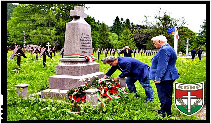 """Valea Uzului, un cimitir confiscat și maghiarizat: doar oaspeții din guvernul Ungariei pot vizita cimitirul în afara """"programului"""", Foto: facebook.com/pg/kdnphu/"""