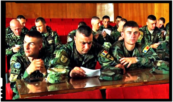 Militarii din Republica Moldova se vor antrena cu militarii americani în California, Foto: Youtube / MDNationalArmy