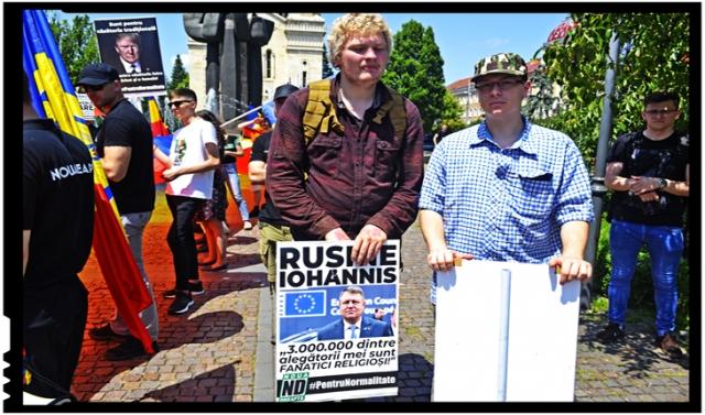 La Cluj, un tânăr olandez s-a alăturat Mitingului pentru familie, deplângând situația în care a ajuns Olanda după schimbarea legislației