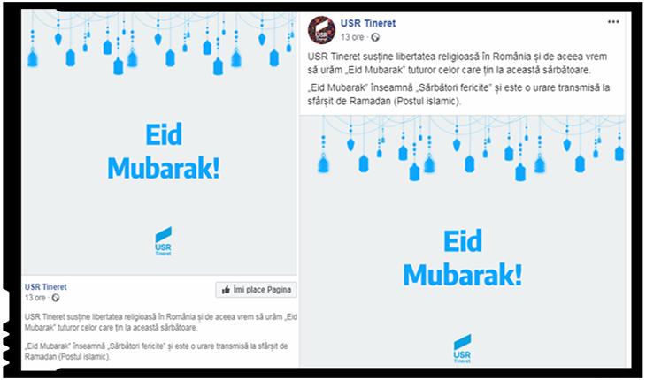 """Ce urmează după alegerile fraudate? """"Eid Mubarak"""" ne spun şturlubaticii de la USR Tineret! Pe tobogan către marea globalizare!"""