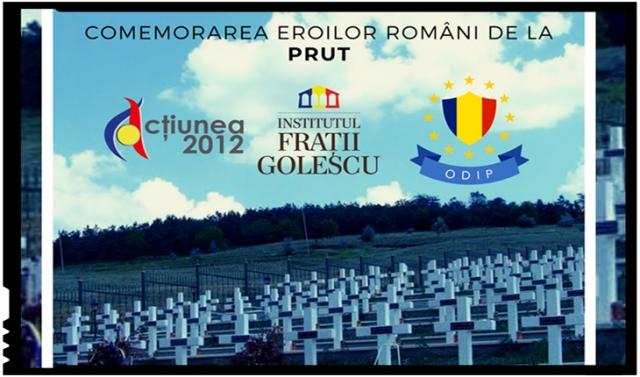 Omagiu soldaților Armatei Române căzuți în luptă pentru eliberarea Basarabiei