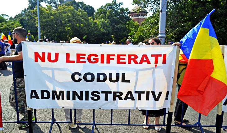 Nu legiferați Codul Administrativ!