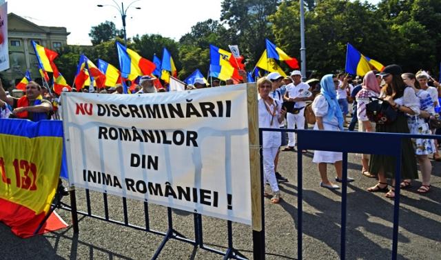 NU discriminării românilor din inima României!