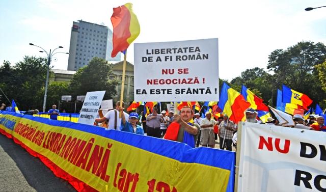 Libertatea de a fi român NU se negociază! Ea este sfântă!