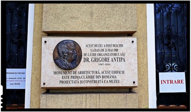 """Muzeul Național de Istorie Naturală """"Grigore Antipa"""""""