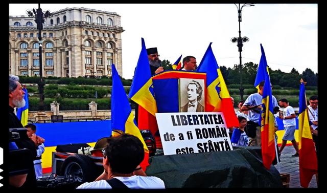 29 Iulie 2018, Protest la București împotriva adoptării Codului Administrativ
