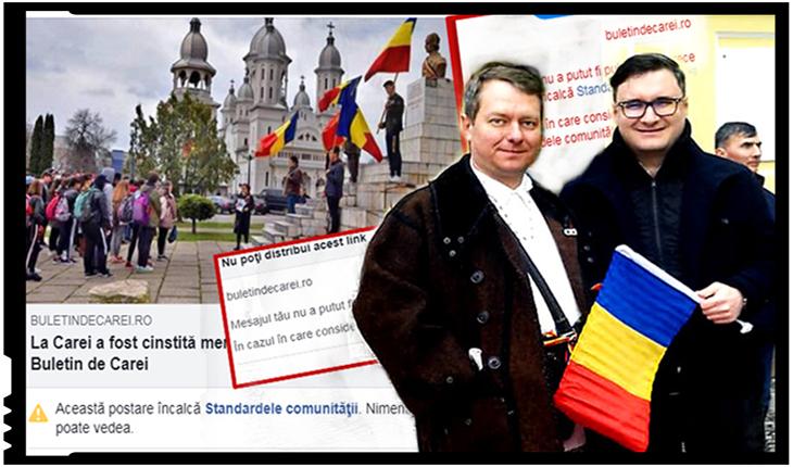 Românii care apără identitatea românească de agresiunea maghiară sunt cenzurați tot mai agresiv!