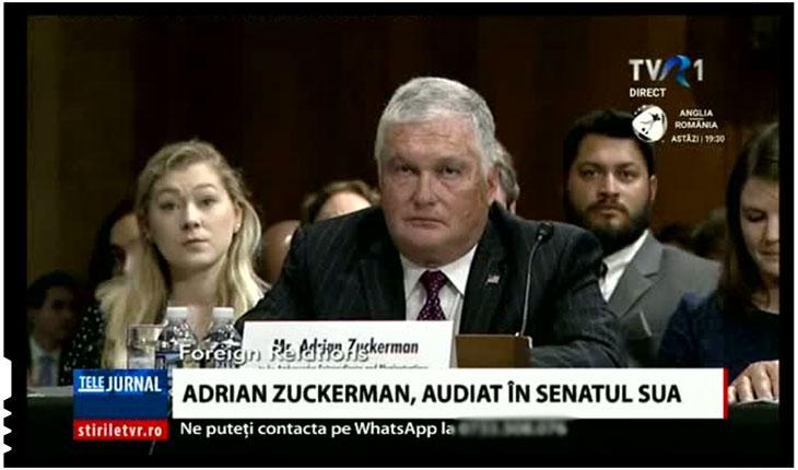 România nu are voie să aibă un ambasador american pro român?, Foto: TVR 1