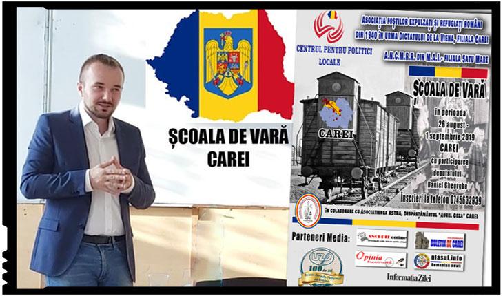 Deputatul Daniel Gheorghe despre Școala de Vară de la Carei