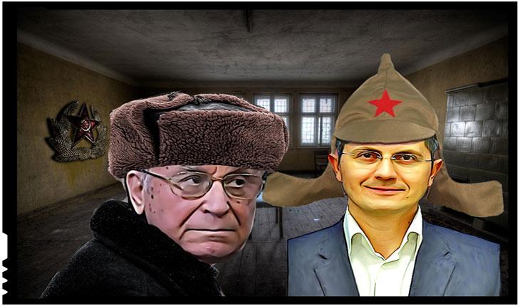 """Iliescu voia să aducă rușii în țară pentru a face """"ordine"""", iar Barna vrea ca MAI să fie condus de străini!? Bolșevismu' n-o muritu'!"""