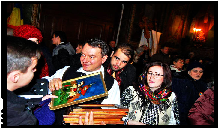 Vinovat c-am dăruit Icoane si am înălțat Troițe pentru Inima Țării împreună cu mii de români, împreună cu frații si surorile mele de credință si sânge, Foto: Facebook / Mihai Tirnoveanu