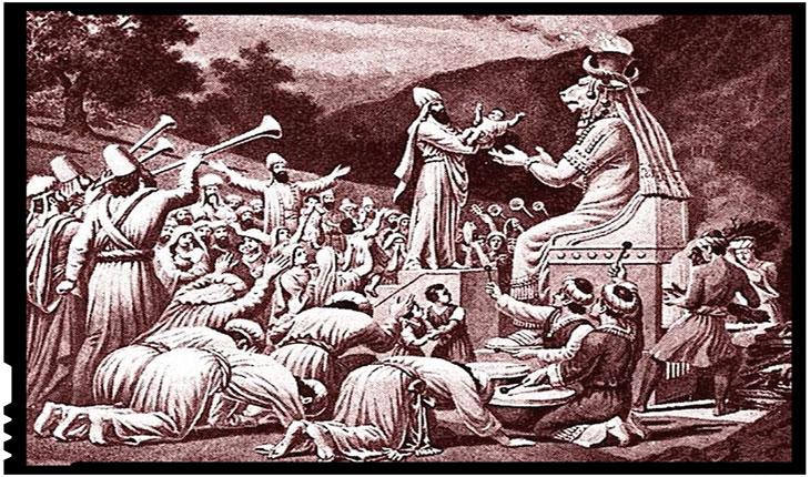 Scutul de la Deveselu se ține cu sacrificii de copii, ca pe vremea când anticii își sacrificau copiii zeului Moloh?