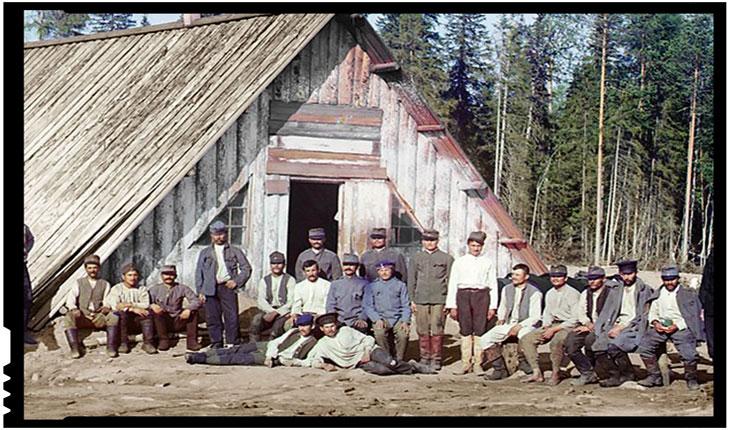 Prizonieri austro-ungari in Rusia, Foto: rol ilustrativ