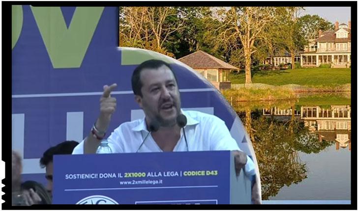 """Matteo Salvini îi propune lui Richard Gere să-i găzduiască """"în vilele sale"""" pe migranți"""