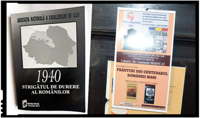 """Invitație la lectură: """"1940 Strigătul de durere al românilor"""""""