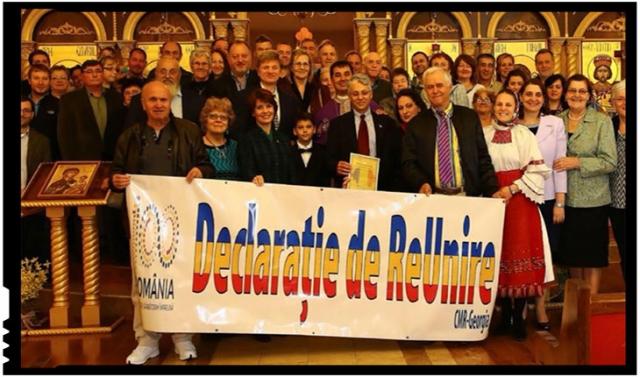 Conferință transformată în Congres de Constituire a Alianței Unioniste a Românilor, Foto: Facebook / Consiliul Mondial Român