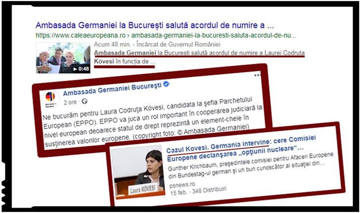 Când se bucură Germania pentru Kovesi, să știi că pe România o așteaptă zile grele