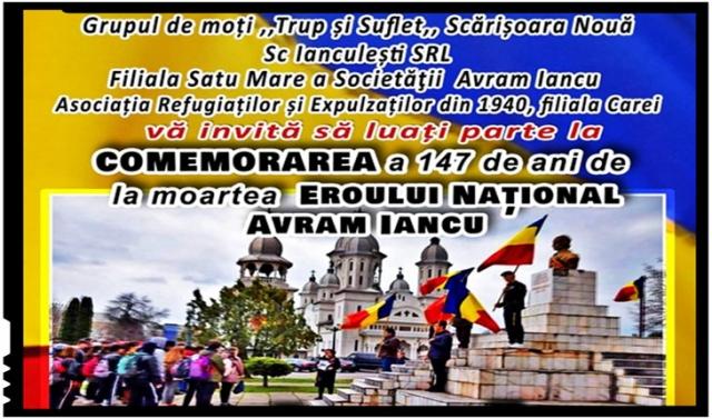 Careiul organizează de la an la an comemorări tot mai fastuoase pentru Avram Iancu. Reînvie spiritul lui Iancu?