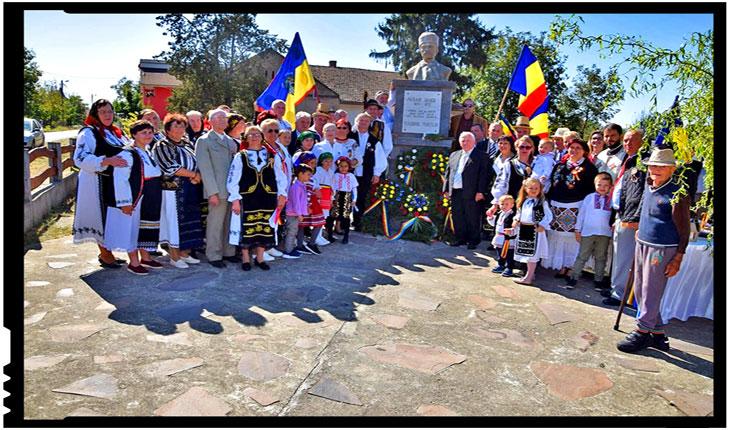 Comemorarea Eroului Național AVRAM IANCU a avut loc și în satul Marna Nouă de lângă Carei, Foto: Buletin de Carei